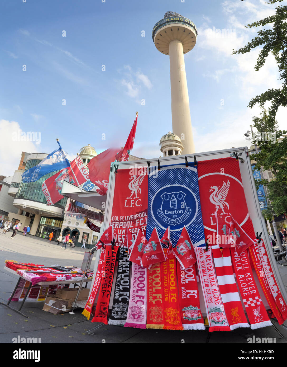 LFC,EFC,Everton,FC,towels,scarf,scarves,red,blue,stall,Square,market,markets,selling,retail,vibrant,tourist,tourism,travel,landmark,concrete,1960s,sunny,summer,city,centre,attraction,Liverpool FC,Everton FC,The Toffees,TheReds,Radio City Tower,Williamson Square,City Centre,GoTonySmith,@HotpixUK,Tony,Smith,UK,GB,Great,Britain,United,Kingdom,English,British,England,L1,1RL,Houghton,You,Will,Never,Walk,Alone,Buy Pictures of,Buy Images Of,Images of,Stock Images,Tony Smith,United Kingdom,Great Britain,British Isles,1 Houghton St,L1 1RL,You Will Never Walk Alone,Youll Never Walk Alone