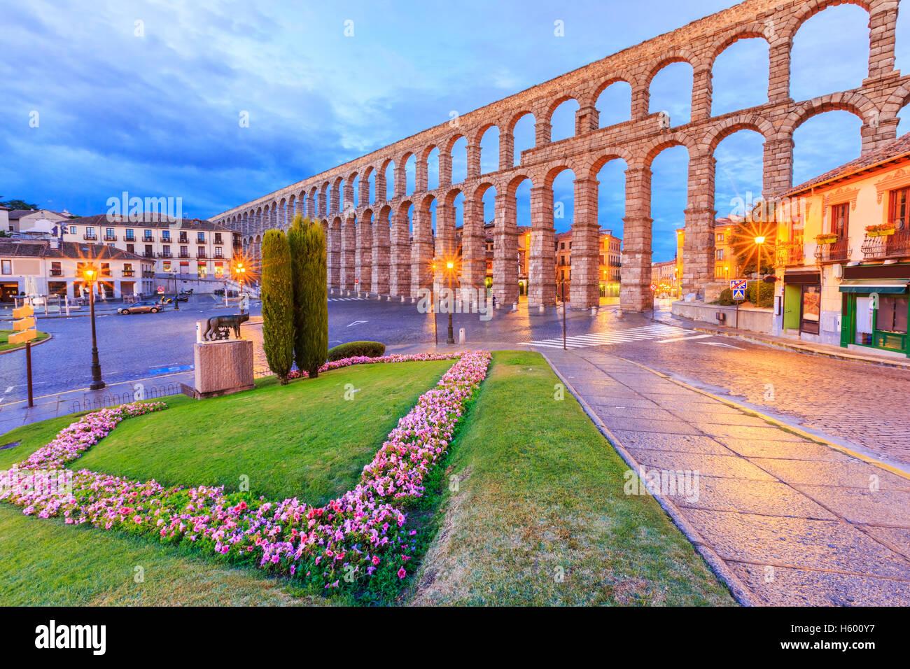 Segovia, Spain. - Stock Image