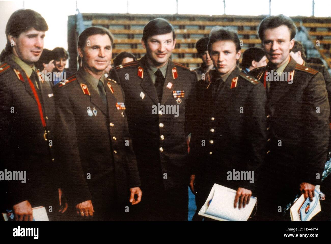 RED ARMY HOCKEY PLAYERS RED ARMY (2014) - Stock Image