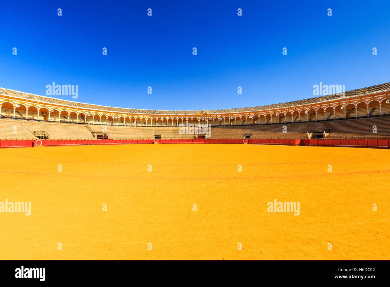 Seville, Spain. Plaza de Toros (Bullring). - Stock Image