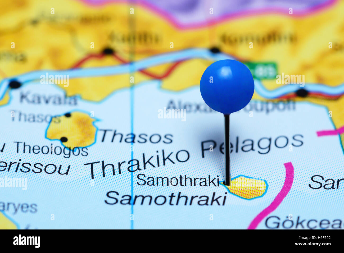 Samothraki Stock Photos Samothraki Stock Images Alamy