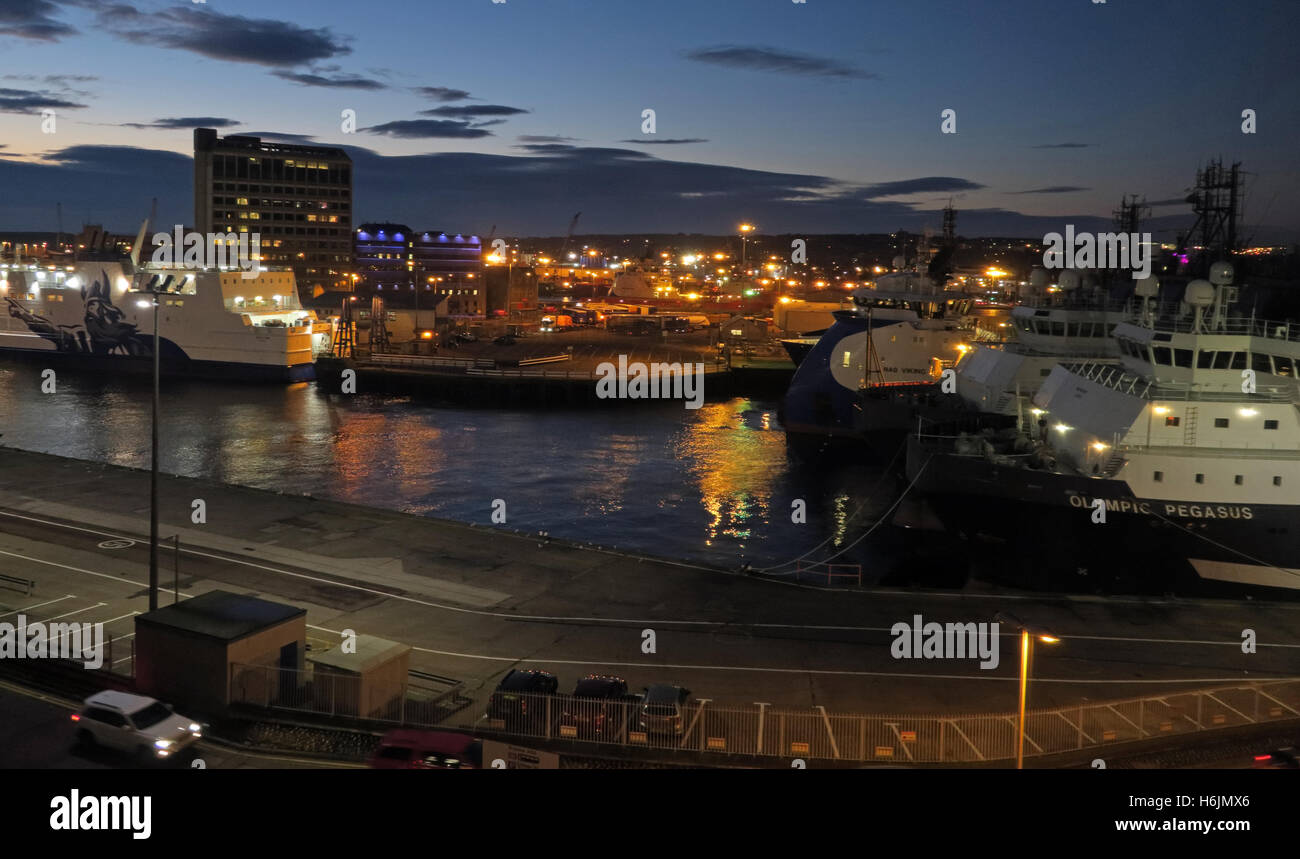 Ship,shipping,boat,ferry,ferries,oil,town,city,centre,lights,dusk,blue,hour,dock,docks,dockside,crane,cranes,reflection,reflections,Scotish,Scottish,Alba,business,cargo,commercial,coastal,economy,europe,european,gas,Northsea,sea,haven,supply,vessel,AB11,City Centre,Blue Hour,North Sea,GoTonySmith,@HotpixUK,Tony,Smith,UK,GB,Great,Britain,United,Kingdom,English,British,England,AberdeenHarbour,Harbor,carpark,car,park,twilight,lowlight,low,light,Buy Pictures of,Buy Images Of,Images of,Stock Images,Tony Smith,United Kingdom,Great Britain,British Isles,Aberdeen Harbour