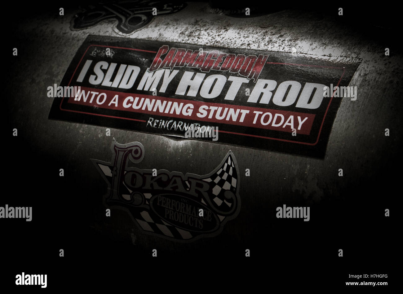 Cunning Stunts - Stock Image