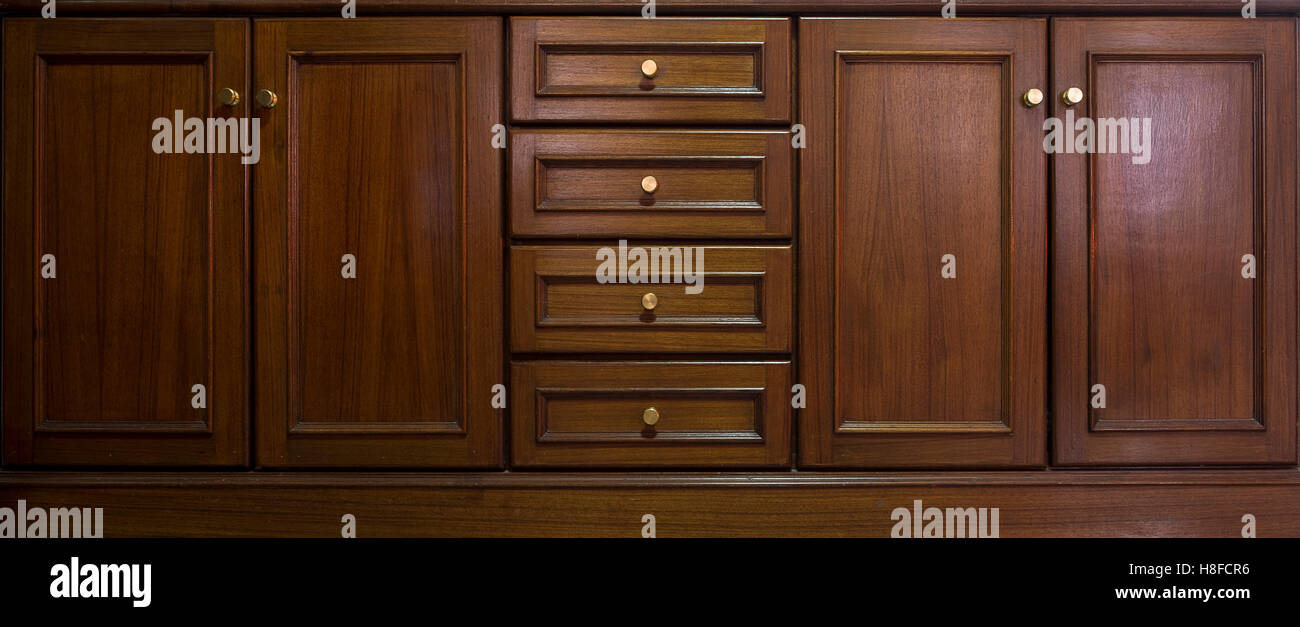 Front Kitchen Wooden Frame Cabinet Door And Drawers Made