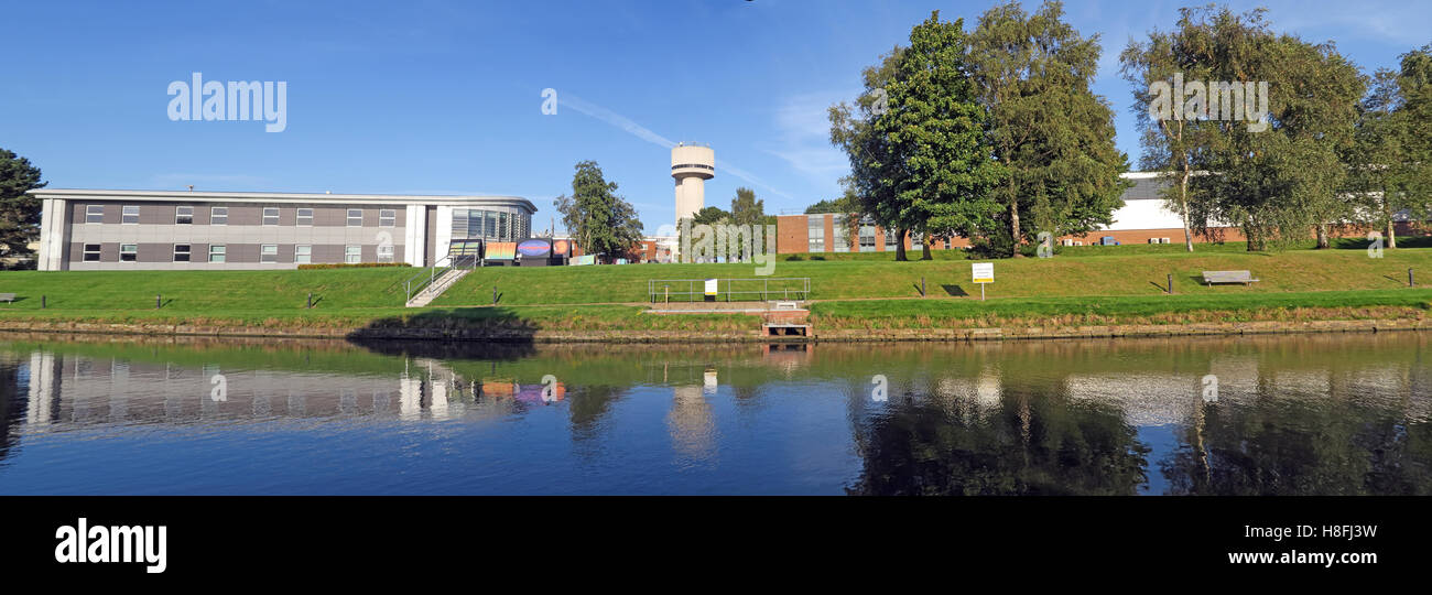 Building,landmark,science,scientific,physics,material,materials,test,testing,facility,canal,side,canalside,Sci-tech,Sci,Tech,innovation,campus,innovation campus,college,education,laboratory,nuclear,radioactive,isotope,high-tech,high,tech,companies,company,national,Warrington,Cheshire,panorama,GoTonySmith,@HotpixUK,Tony,Smith,UK,GB,Great,Britain,United,Kingdom,English,British,England,reflection,mirror,keckwick,world,class,world class,world-class,Hartree,Cockcroft,business,Buy Pictures of,Buy Images Of,Images of,Stock Images,Tony Smith,United Kingdom,Great Britain,British Isles,Buy photo of