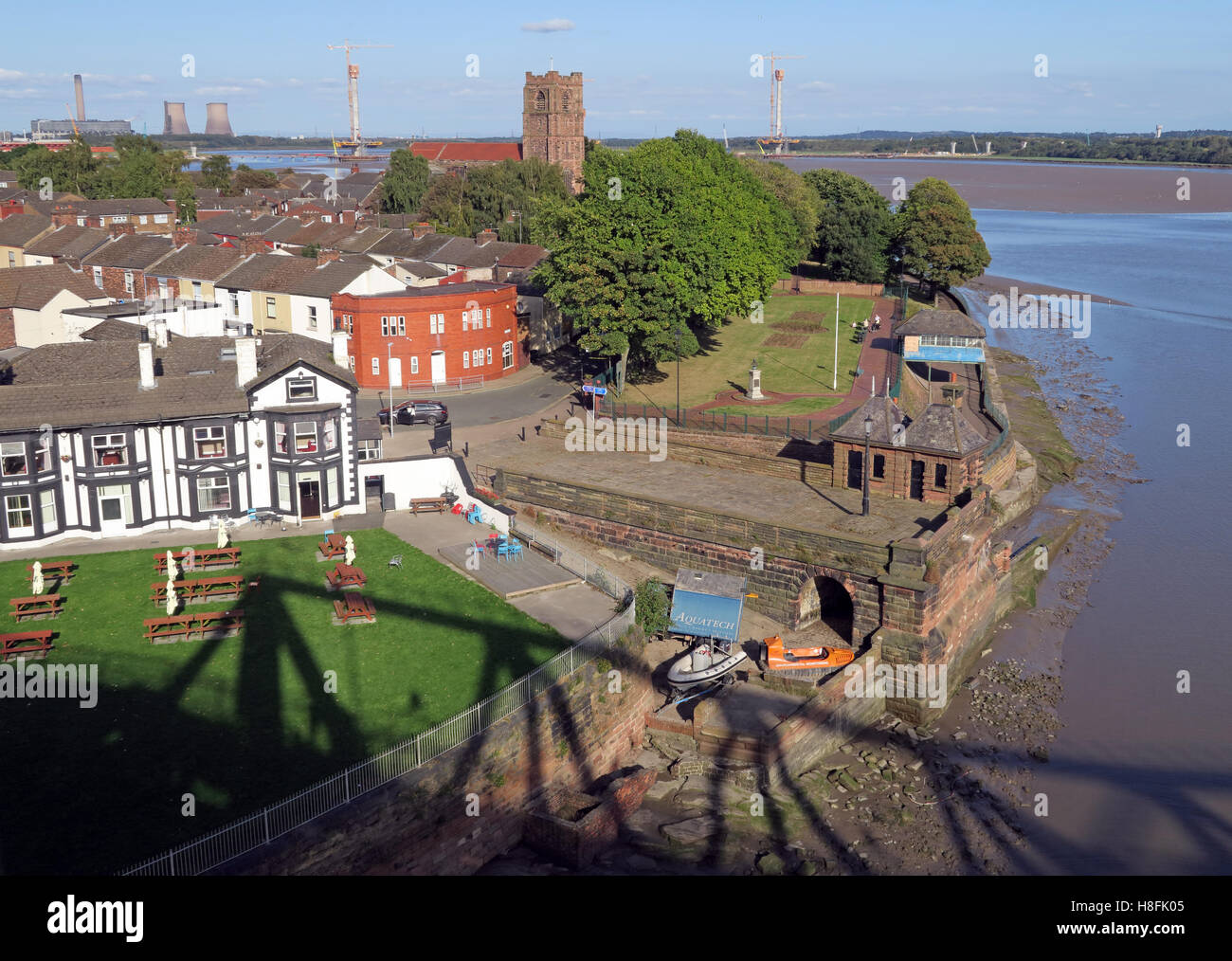 GoTonySmith,@HotpixUK,Tony,Smith,UK,GB,Great,Britain,United,Kingdom,English,British,England,problem,with,problem with,issue with,Buy Pictures of,Buy Images Of,Images of,Stock Images,Tony Smith,United Kingdom,Great Britain,British Isles,West Bank,View from bridge,summer,building,estate,housing,West Bank Dock,Chemical works,dock,Victorian,industry,dockside,dock side