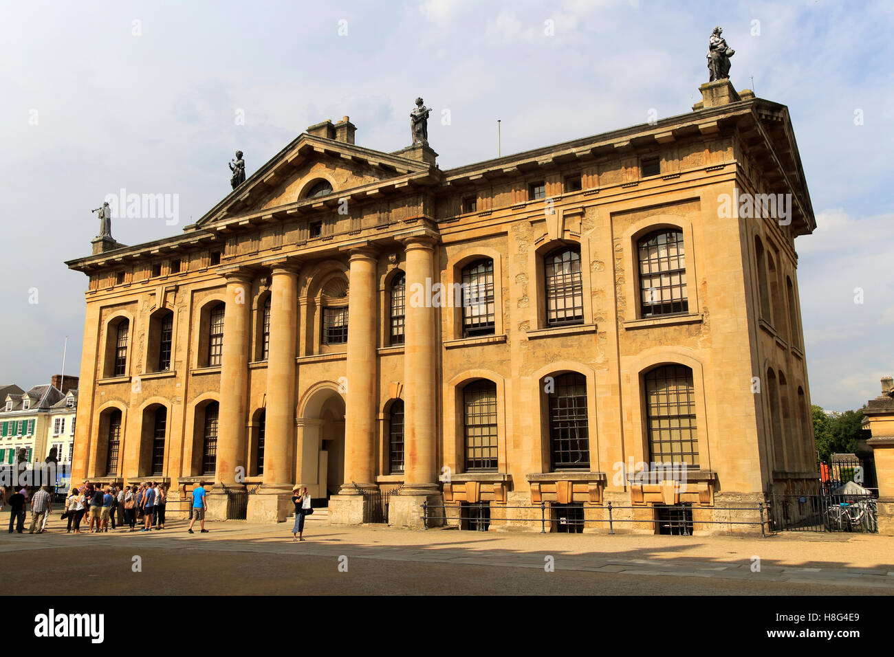 clarendon building early 18th century neoclassical architecture