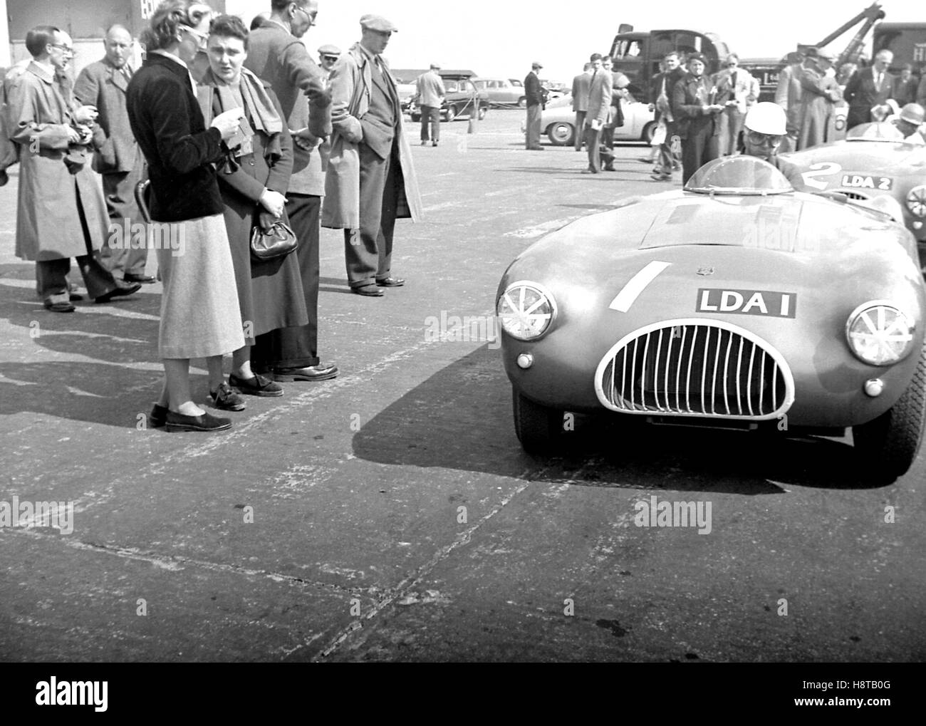 1954 SILVERSTONE KIEFT CENTRE SEAT SPORTS CARS - Stock Image
