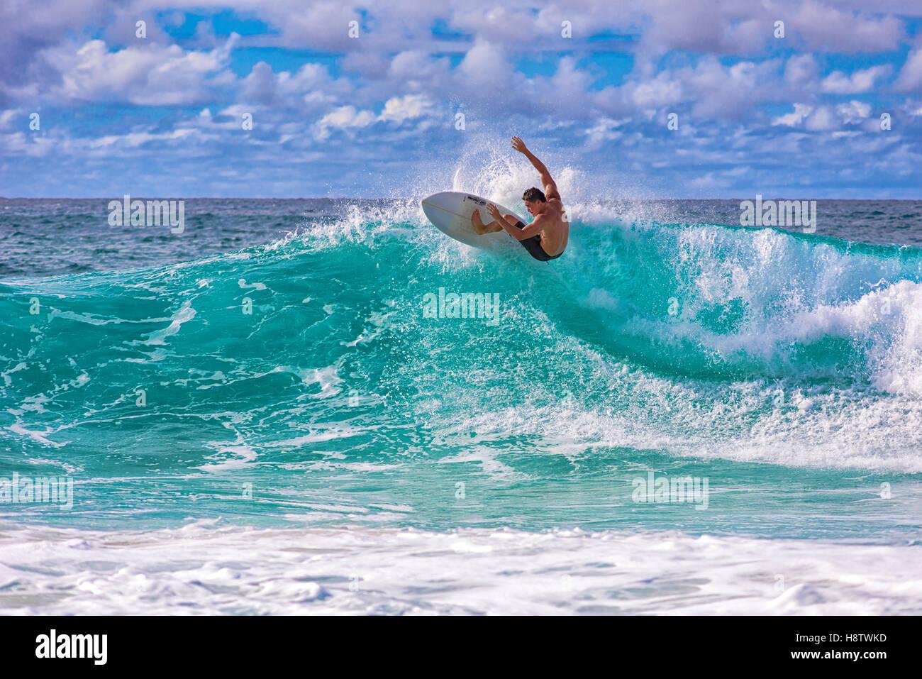 9fe8fcc7d0 Surfer at Banzai Pipeline