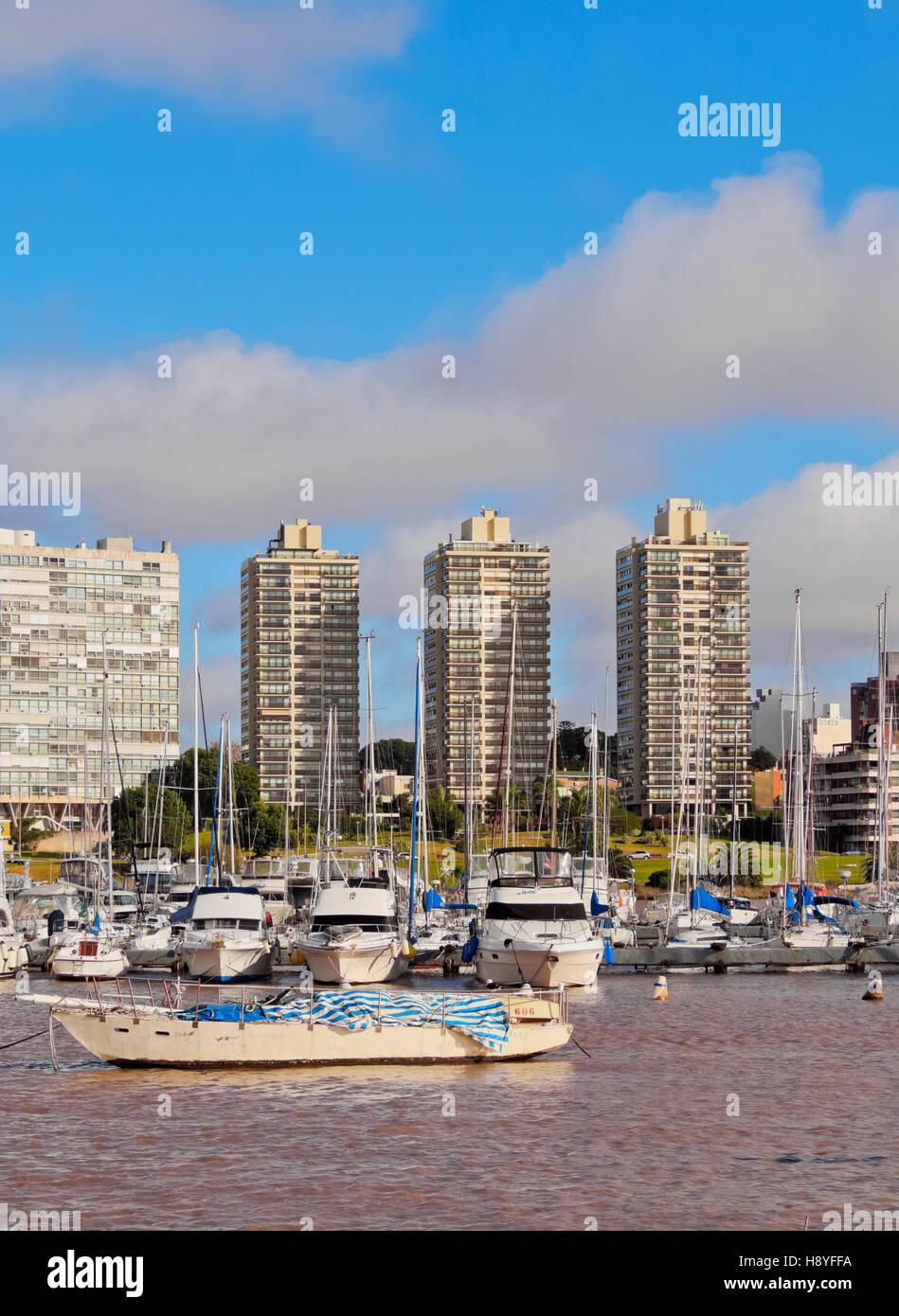 Uruguay, Montevideo, Little Port in Buceo Neighbourhood. - Stock Image