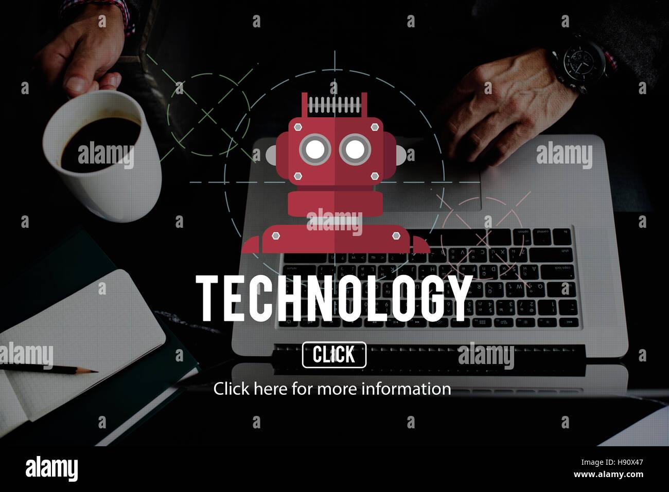 Robot Cyborg Ai Robotics Android Concept Stock Photo 126024983 Alamy