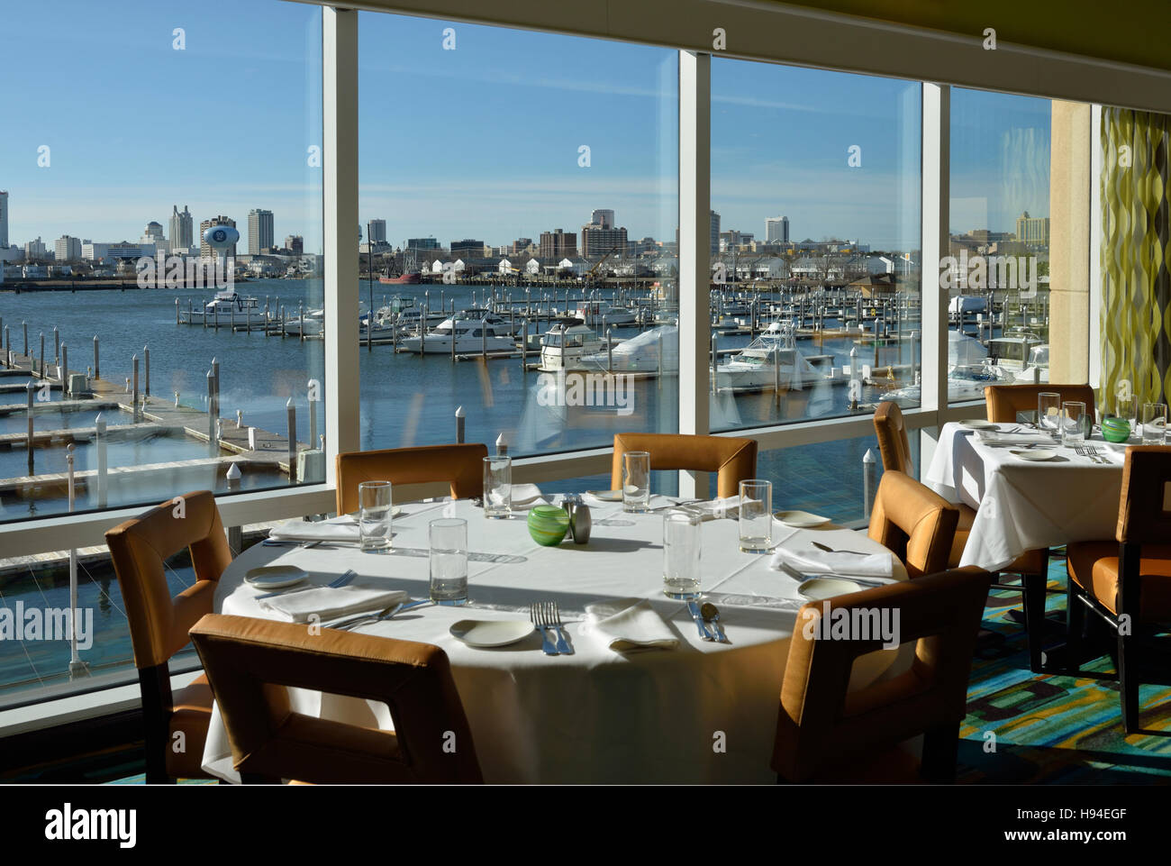 Chart house restaurant atlantic city new jersey usa stock photo