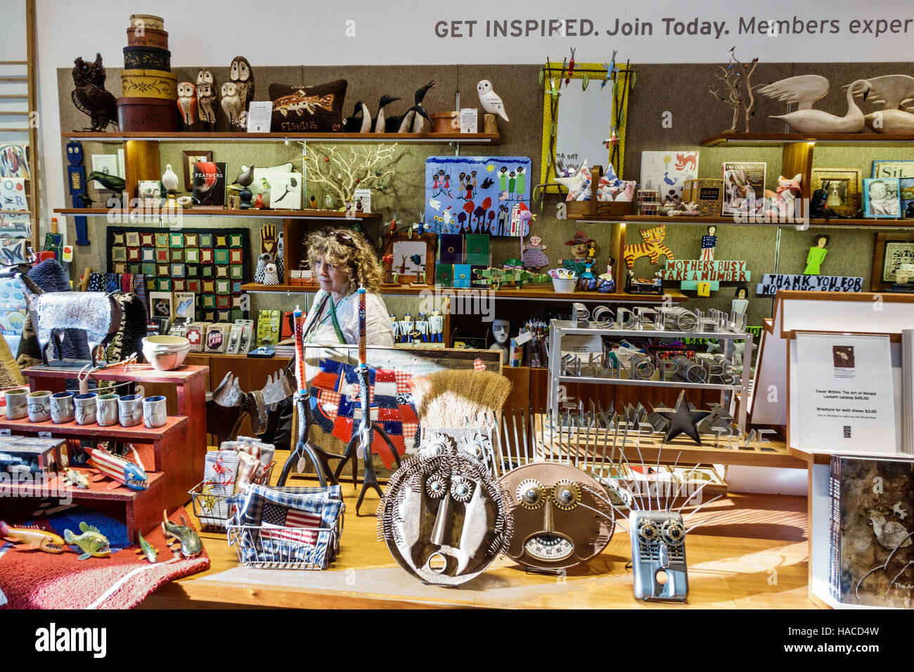 Shop with folk art stock photos shop with folk art stock for Art and craft stores nyc