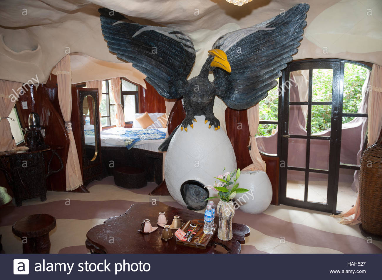 Dalat Vietnam Hang Nga Crazy House. Idiosyncratic design and surreal ...