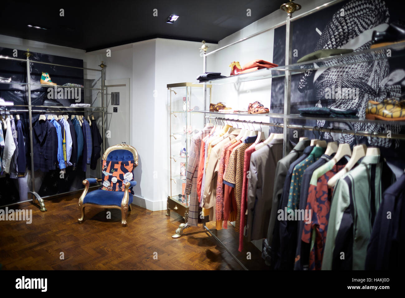 Manchester Vivienne Westwood Shop Interior Mens King
