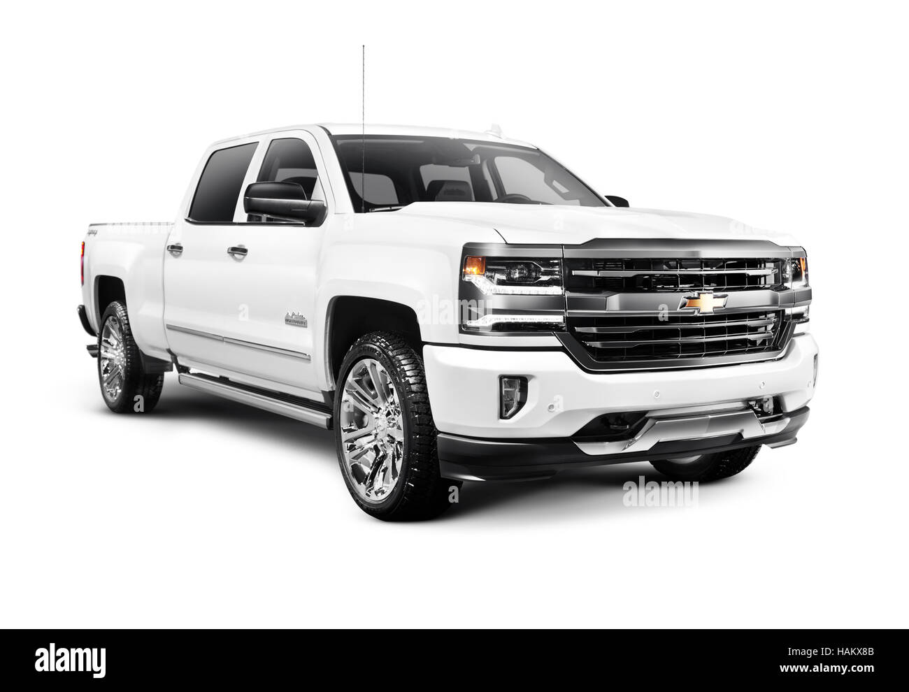 2017 White Chevy Silverado >> Chevy Pickup Truck American Car Stock Photos & Chevy Pickup Truck American Car Stock Images - Alamy