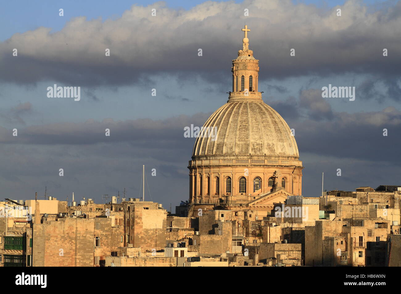 Valletta skyline, MaltaStock Photo