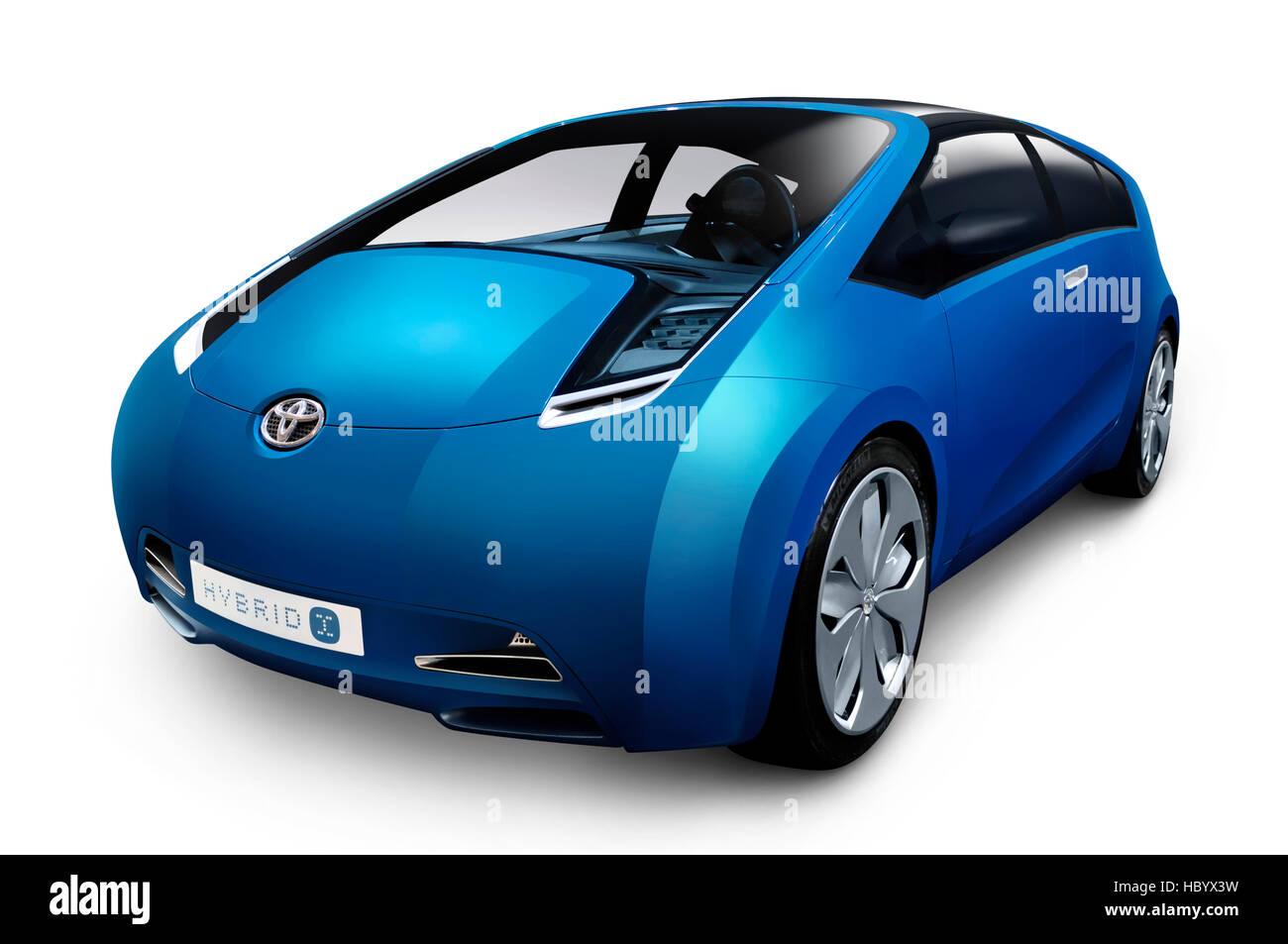 Toyota Hybrid-X concept hybrid car - Stock Image