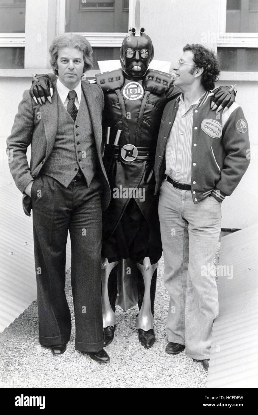 JODOROWSKY'S DUNE, Alejandro Jodorowsky (left), Jean Giraud (right), early 1970s, 2013. ©Sony Pictures Classics/courtesy Stock Photo