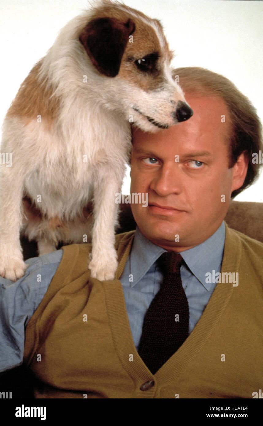 FRASIER, Moose the Dog, Kelsey Grammer, 1993-2004, (c)NBC/courtesy Everett Collection Stock Photo