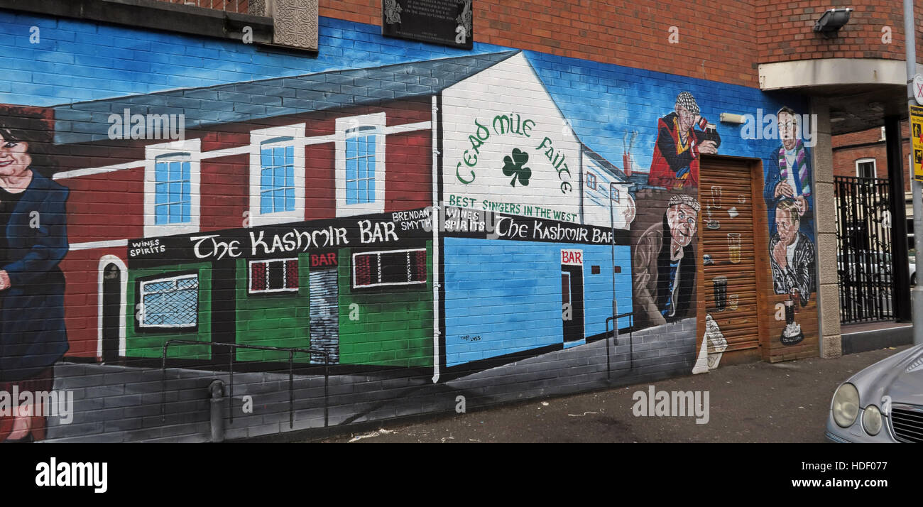 Road,painting,graffiti,resistance,IRA,peace,Northern Ireland,NI,UK,St,street,Eire,Irish,Republic,Irish Republic,conflict,Irish Republican Army,Political Change,The,Kashmir,Bar,Failte,The Kashmir Bar,catholic,GoTonySmith,@HotpixUK,Tony,Smith,UK,GB,Great,Britain,United,Kingdom,Irish,British,Ireland,problem,with,problem with,issue with,NI,Northern,Northern Ireland,Belfast,City,Centre,Art,Artists,the,troubles,The Troubles,Good Friday Agreement,Peace,honour,painting,wall,walls,tribute,republicanism,Fight,Justice,West,Beal,feirste,martyrs,social,tour,tourism,tourists,urban,six,counties,6,backdrop,county,Antrim,occupation,good,Friday,agreement,peace,reconciliation,IRA,terror,terrorists,genocide,Buy Pictures of,Buy Images Of,Images of,Stock Images,Tony Smith,United Kingdom,Great Britain,British Isles,republican cause