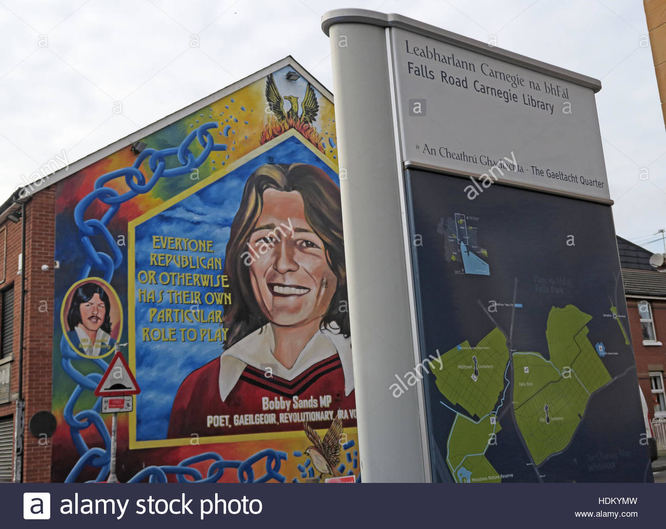 Road,painting,graffiti,resistance,IRA,peace,Northern Ireland,NI,UK,St,street,Eire,Irish,Republic,Irish Republic,conflict,Irish Republican Army,Political Change,MP,Bobby,Sands,Mural,and,Carnegie Library,Carnegie,Library,GoTonySmith,@HotpixUK,Tony,Smith,UK,GB,Great,Britain,United,Kingdom,Irish,British,Ireland,problem,with,problem with,issue with,NI,Northern,Northern Ireland,Belfast,City,Centre,Art,Artists,the,troubles,The Troubles,Good Friday Agreement,Peace,honour,painting,wall,walls,tribute,republicanism,Fight,Justice,West,Beal,feirste,martyrs,social,tour,tourism,tourists,urban,six,counties,6,backdrop,county,Antrim,occupation,good,Friday,agreement,peace,reconciliation,IRA,terror,terrorists,genocide,Buy Pictures of,Buy Images Of,Images of,Stock Images,Tony Smith,United Kingdom,Great Britain,British Isles,republican cause