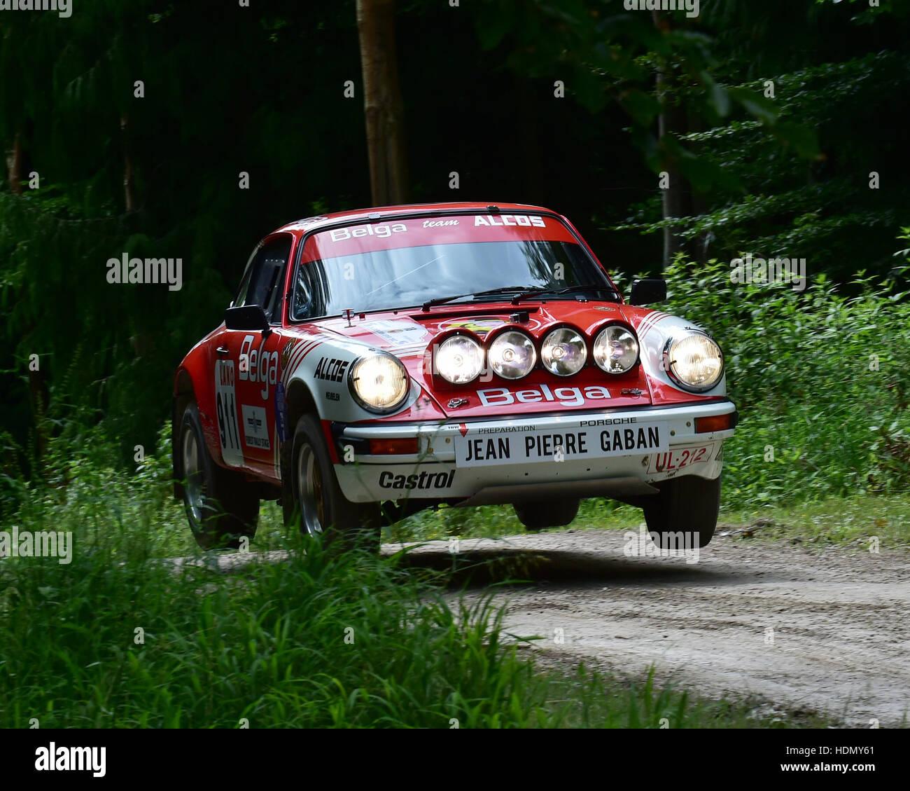 Johan Frank Dirickx Alan Benjamin Porsche 911 Sc Forest Rally