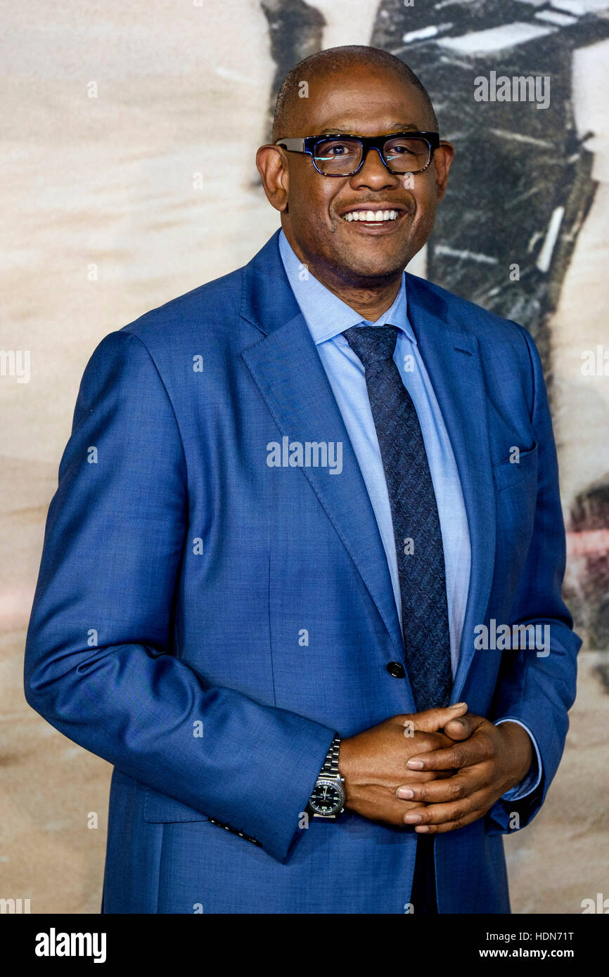 Forest Whitaker attends the Launch Event of ROGUE ONE: A STAR WARS STORY  on 13/12/2016 at  Tate Modern, Bankside, Stock Photo