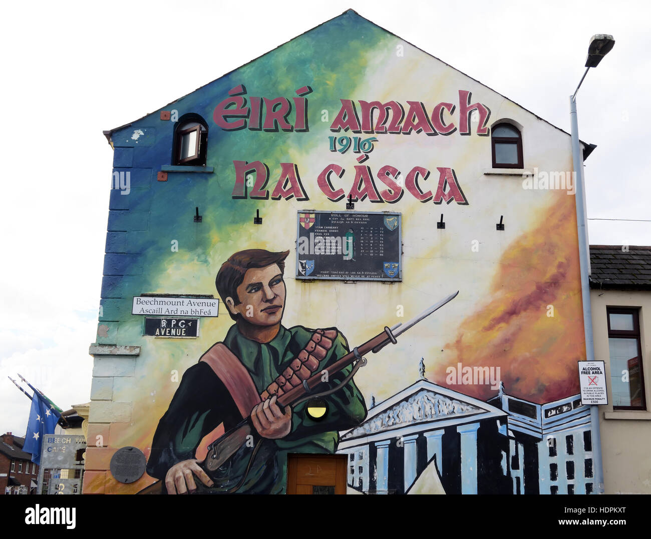 Road,painting,graffiti,resistance,IRA,peace,Northern Ireland,NI,UK,St,street,Eire,Irish,Republic,Irish Republic,conflict,Irish Republican Army,Political Change,RPG Avenue,RPG Ave,Beechmount Avenue,1916 Easter Rising,Beechmount,Beechmount Avenue,1916 Easter Rising,1916,Easter,Rising,GoTonySmith,@HotpixUK,Tony,Smith,UK,GB,Great,Britain,United,Kingdom,Irish,British,Ireland,problem,with,problem with,issue with,NI,Northern,Northern Ireland,Belfast,City,Centre,Art,Artists,the,troubles,The Troubles,Good Friday Agreement,Peace,honour,painting,wall,walls,tribute,republicanism,Fight,Justice,West,Beal,feirste,martyrs,social,tour,tourism,tourists,urban,six,counties,6,backdrop,county,Antrim,occupation,good,Friday,agreement,peace,reconciliation,IRA,terror,terrorists,genocide,Buy Pictures of,Buy Images Of,Images of,Stock Images,Tony Smith,United Kingdom,Great Britain,British Isles,republican cause