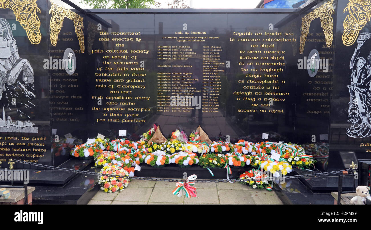 Falls,Road,rd,Garden,of,remembrance,IRA,members,deceased,ex-prisoners,West,Belfast,NI,UK,Falls,Cultural,Society,Flowers,left,placed,in,Irish,colours,Orange,green,white,Falls Cultural Society,GoTonySmith,@HotpixUK,Tony,Smith,UK,GB,Great,Britain,United,Kingdom,Irish,British,Ireland,problem,with,problem with,issue with,NI,Northern,Northern Ireland,Belfast,City,Centre,Art,Artists,the,troubles,The Troubles,Good Friday Agreement,Peace,honour,painting,wall,walls,tribute,republicanism,Fight,Justice,West,Beal,feirste,martyrs,social,tour,tourism,tourists,urban,six,counties,6,backdrop,county,Antrim,Catholic,community,Buy Pictures of,Buy Images Of,Images of,Stock Images,Tony Smith,United Kingdom,Great Britain,British Isles,Catholic Community