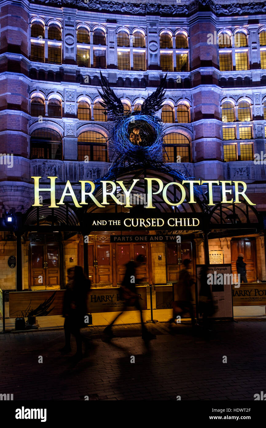 Harry Potter and The Cursed Child at the Palace Theatre, London, UK - Stock Image