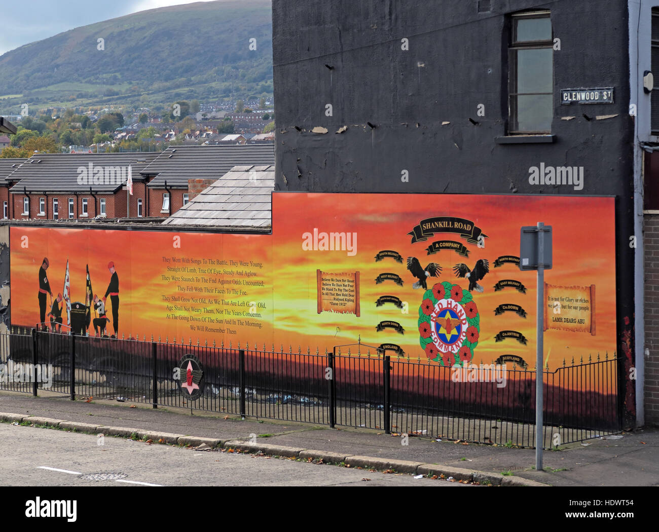 Red hand,Ulster,memorial,UFF,Unionist,mural,off,Shankill,rd,Road,West Belfast,Northern Ireland,UK,Ireland,fighter,fighting,Glenwood,St,street,A,Company,battalion,ACompany,gable,end,sunset,gable-end,A Company,gable end,GoTonySmith,@HotpixUK,Tony,Smith,UK,GB,Great,Britain,United,Kingdom,Irish,British,Ireland,problem,with,problem with,issue with,NI,Northern,Northern Ireland,Belfast,City,Centre,Art,Artists,the,troubles,The Troubles,Good Friday Agreement,Peace,honour,painting,wall,walls,tribute,Unionist,unionism,Protestant,community,Fight,Justice,West,Beal,feirste,martyrs,social,tour,tourism,tourists,urban,six,counties,6,backdrop,county,Antrim,UVF,DUP,British,GB,Empire,Buy Pictures of,Buy Images Of,Images of,Stock Images,Tony Smith,United Kingdom,Great Britain,British Isles,Belfast protestant community,Peoples army