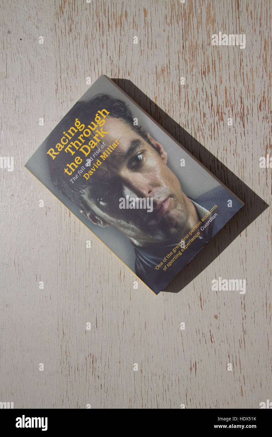Autobiography of professional racing cyclist David Millar Stock Photo