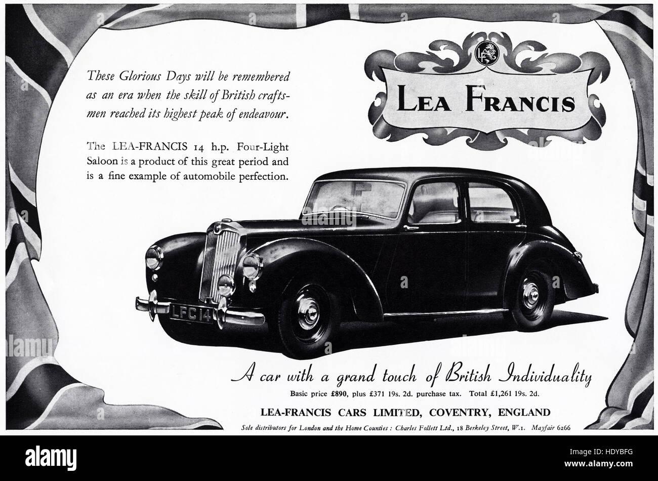 1950s advert advertising from original old vintage English magazine ...