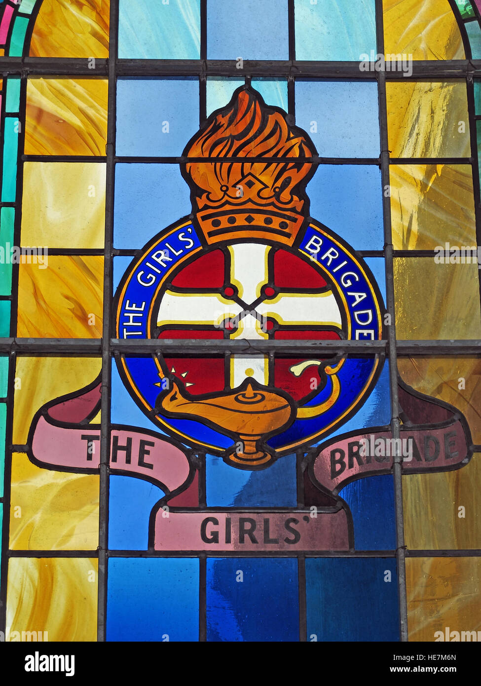 Inside,architecture,building,stone,arch,holy,St Annes,Belfast Cathedral,saint,Annes,Girls Brigade,detail,of,stained,glass,window,yellow,blue,red,lamp,GoTonySmith,@HotpixUK,Tony,Smith,UK,GB,Great,Britain,United,Kingdom,Irish,British,Ireland,problem,with,problem with,issue with,NI,Northern,Northern Ireland,Belfast,City,Centre,Art,Artists,the,troubles,The Troubles,Good Friday Agreement,Peace,honour,painting,wall,walls,tribute,republicanism,Fight,Justice,West,Beal,feirste,martyrs,social,tour,tourism,tourists,urban,six,counties,6,backdrop,county,Antrim,Quarter,Buy Pictures of,Buy Images Of,Images of,Stock Images,Tony Smith,United Kingdom,Great Britain,British Isles