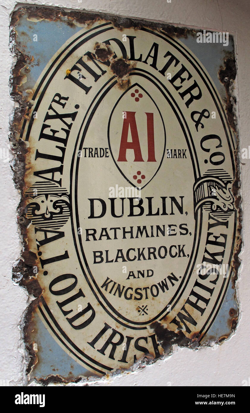 Findlater Old Irish Whiskey,Metal Sign,Whisky,Northern Ireland,UK,history,historic,AI,Alex,Dublin,Trademark,Rathmines,Blackrock,Kingstown,Kings,Town,Duke of York,duke,of,york,pub,bar,spirit,alcohol,rust,rusting,abuse,GoTonySmith,@HotpixUK,Tony,Smith,UK,GB,Great,Britain,United,Kingdom,Irish,British,Ireland,problem,with,problem with,issue with,NI,Northern,Northern Ireland,Belfast,City,Centre,Art,Artists,the,troubles,The Troubles,Good Friday Agreement,Peace,honour,painting,wall,walls,tribute,republicanism,Fight,Justice,West,Beal,feirste,martyrs,social,tour,tourism,tourists,urban,six,counties,6,backdrop,county,Antrim,Quarter,Buy Pictures of,Buy Images Of,Images of,Stock Images,Tony Smith,United Kingdom,Great Britain,British Isles