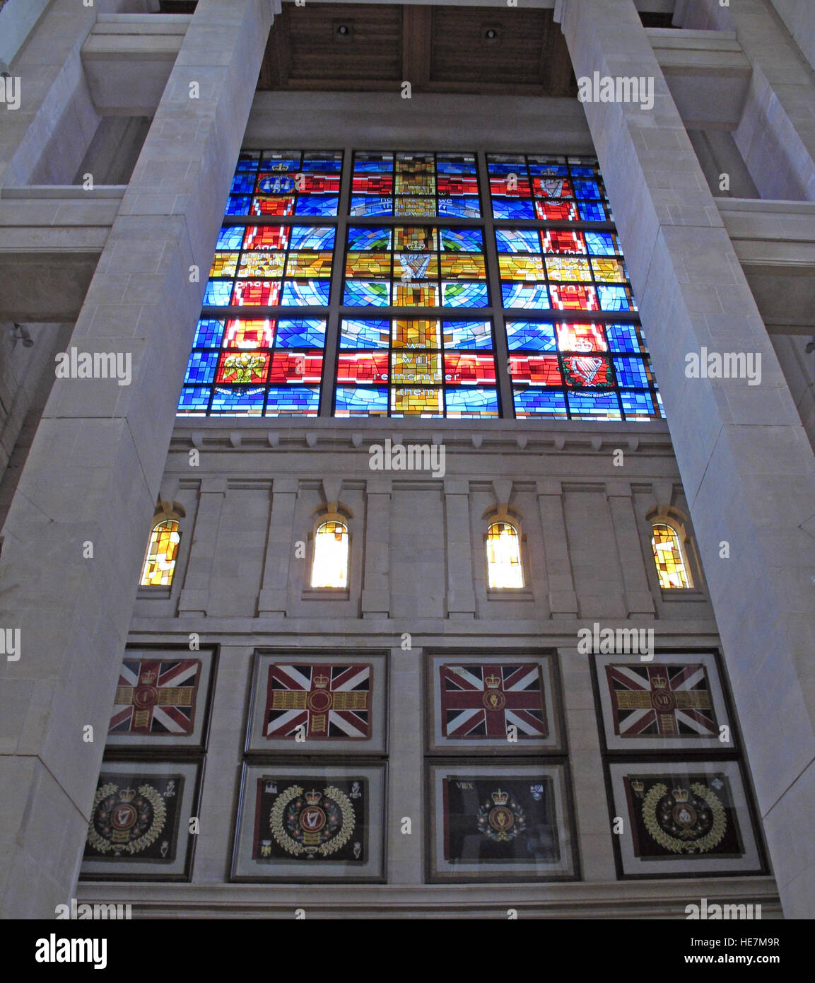 Inside,architecture,building,stone,arch,holy,St Annes,Belfast Cathedral,saint,Annes,Royal Irish Rangers Window,Rangers,Stained,Glass,Window,We will remember them,with,British Flag,union flag,union jack,GoTonySmith,@HotpixUK,Tony,Smith,UK,GB,Great,Britain,United,Kingdom,Irish,British,Ireland,problem,with,problem with,issue with,NI,Northern,Northern Ireland,Belfast,City,Centre,Art,Artists,the,troubles,The Troubles,Good Friday Agreement,Peace,honour,painting,wall,walls,tribute,republicanism,Fight,Justice,West,Beal,feirste,martyrs,social,tour,tourism,tourists,urban,six,counties,6,backdrop,county,Antrim,Quarter,Buy Pictures of,Buy Images Of,Images of,Stock Images,Tony Smith,United Kingdom,Great Britain,British Isles