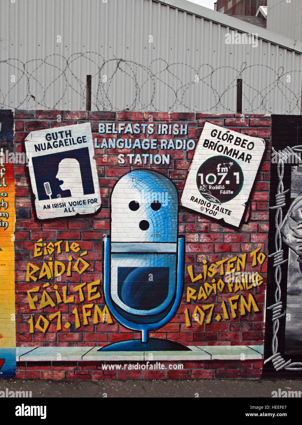 Road,painting,graffiti,resistance,IRA,peace,Northern Ireland,NI,UK,St,street,Eire,Irish,Republic,Irish Republic,conflict,Irish Republican Army,Political Change,Guth Nuagaeil,Irish,voice,for,all,Radio Failte,Mic,Microphone,GoTonySmith,@HotpixUK,Tony,Smith,UK,GB,Great,Britain,United,Kingdom,Irish,British,Ireland,problem,with,problem with,issue with,NI,Northern,Northern Ireland,Belfast,City,Centre,Art,Artists,the,troubles,The Troubles,Good Friday Agreement,Peace,honour,painting,wall,walls,tribute,republicanism,Fight,Justice,West,Beal,feirste,martyrs,social,tour,tourism,tourists,urban,six,counties,6,backdrop,county,Antrim,occupation,good,Friday,agreement,peace,reconciliation,IRA,terror,terrorists,genocide,Buy Pictures of,Buy Images Of,Images of,Stock Images,Tony Smith,United Kingdom,Great Britain,British Isles,republican cause
