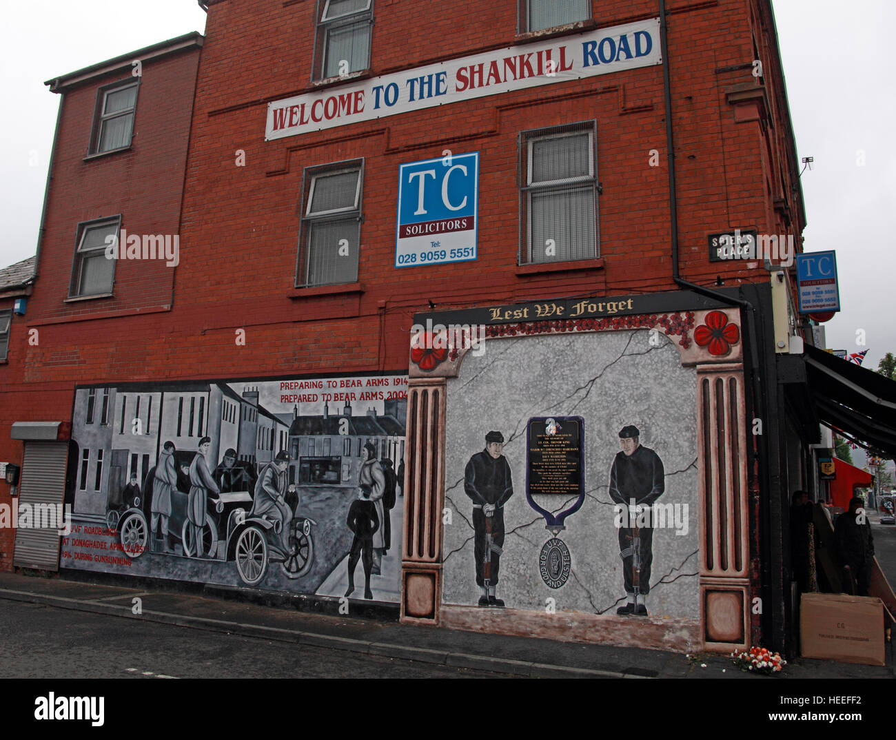 Mural,art,British,Union,wall,walls,gable end,gable,end,Northern,Irish,Republican,violence,para,military,paramilitary,fallen,Martyrs,martyr,street,rd,road,painting,painted,symbolism,Loyalist,culture,history,community,road,Spiers,pl,place,orange,GoTonySmith,@HotpixUK,Tony,Smith,UK,GB,Great,Britain,United,Kingdom,Irish,British,Ireland,problem,with,problem with,issue with,NI,Northern,Northern Ireland,Belfast,City,Centre,Art,Artists,the,troubles,The Troubles,Good Friday Agreement,Peace,honour,painting,wall,walls,tribute,republicanism,Fight,Justice,West,Beal,feirste,martyrs,social,tour,tourism,tourists,urban,six,counties,6,backdrop,county,Antrim,Shankill,Rd,Road,Royal,Royalist,Loyalist,Belfast streets,Buy Pictures of,Buy Images Of,Images of,Stock Images,Tony Smith,United Kingdom,Great Britain,British Isles