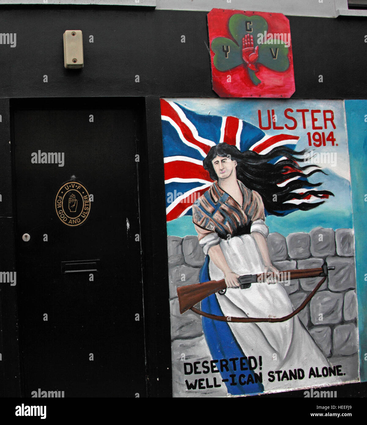 Mural,art,British,Union,wall,walls,gable end,gable,end,Northern,Irish,Republican,violence,para,military,paramilitary,fallen,Martyrs,martyr,street,rd,road,painting,painted,symbolism,Loyalist,culture,history,community,well,I,can,stand,alone,rifle,CYV,orange,GoTonySmith,@HotpixUK,Tony,Smith,UK,GB,Great,Britain,United,Kingdom,Irish,British,Ireland,problem,with,problem with,issue with,NI,Northern,Northern Ireland,Belfast,City,Centre,Art,Artists,the,troubles,The Troubles,Good Friday Agreement,Peace,honour,painting,wall,walls,tribute,republicanism,Fight,Justice,West,Beal,feirste,martyrs,social,tour,tourism,tourists,urban,six,counties,6,backdrop,county,Antrim,Shankill,Rd,Road,Royal,Royalist,Loyalist,Belfast streets,Buy Pictures of,Buy Images Of,Images of,Stock Images,Tony Smith,United Kingdom,Great Britain,British Isles