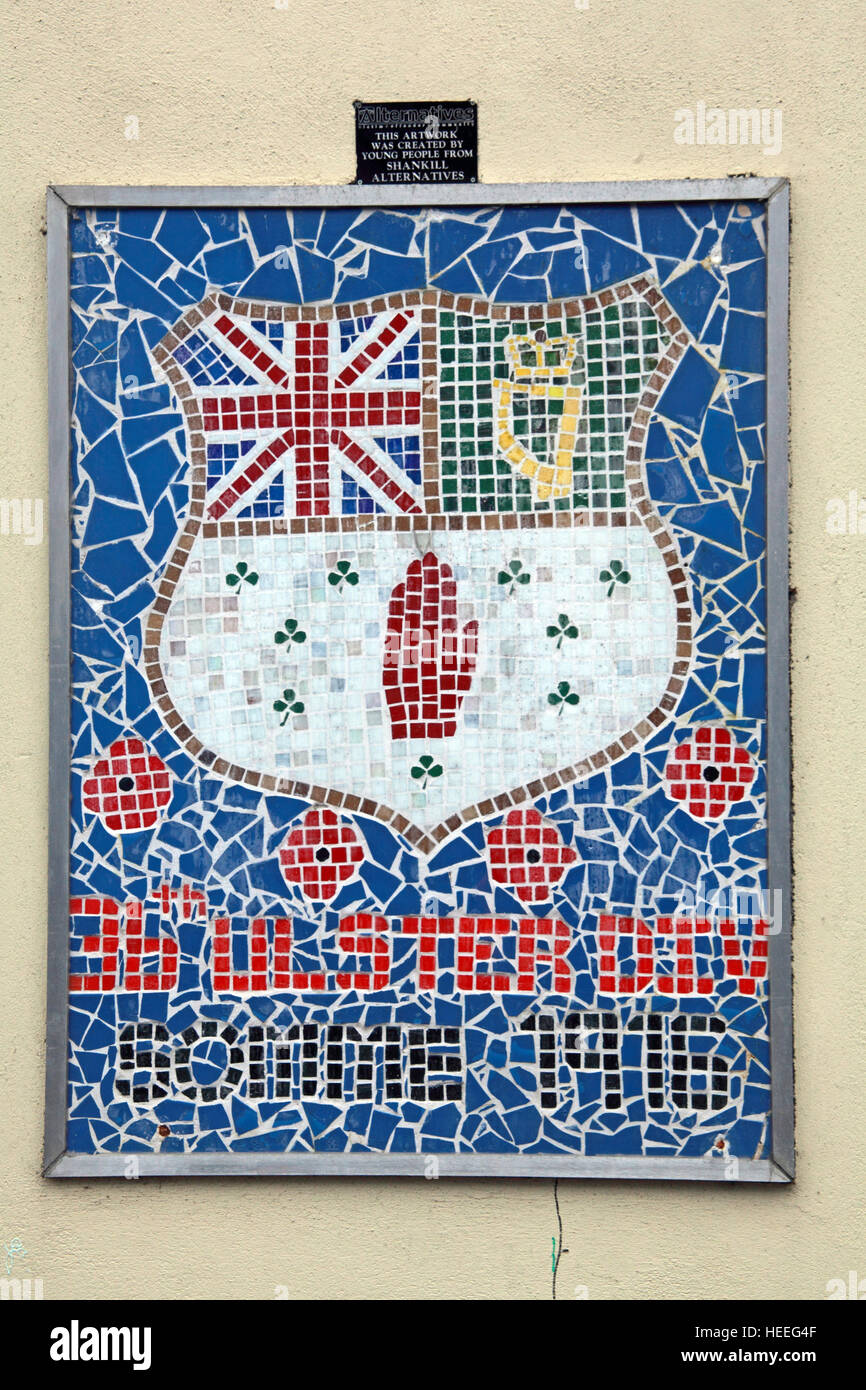 Mural,art,British,Union,wall,walls,gable end,gable,end,Northern,Irish,Republican,violence,para,military,paramilitary,fallen,Martyrs,martyr,street,rd,road,painting,painted,symbolism,Loyalist,culture,history,community,mosaic mural,orange,GoTonySmith,@HotpixUK,Tony,Smith,UK,GB,Great,Britain,United,Kingdom,Irish,British,Ireland,problem,with,problem with,issue with,NI,Northern,Northern Ireland,Belfast,City,Centre,Art,Artists,the,troubles,The Troubles,Good Friday Agreement,Peace,honour,painting,wall,walls,tribute,republicanism,Fight,Justice,West,Beal,feirste,martyrs,social,tour,tourism,tourists,urban,six,counties,6,backdrop,county,Antrim,Shankill,Rd,Road,Royal,Royalist,Loyalist,Belfast streets,Buy Pictures of,Buy Images Of,Images of,Stock Images,Tony Smith,United Kingdom,Great Britain,British Isles