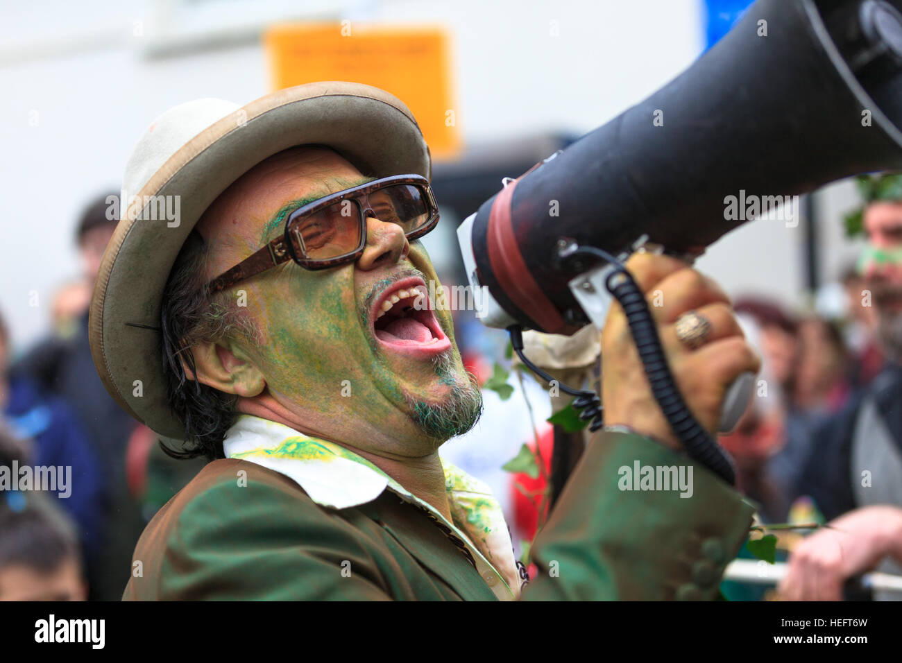 jack in the green festival, hastings, uk Stock Photo