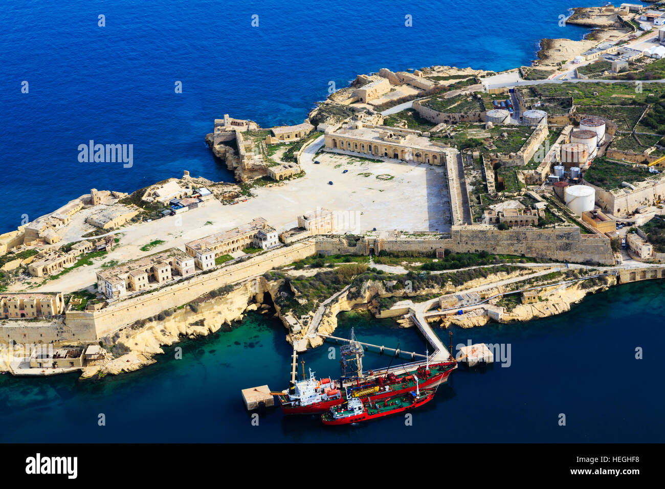 aerial-views-of-ricasoli-fort-and-tanker