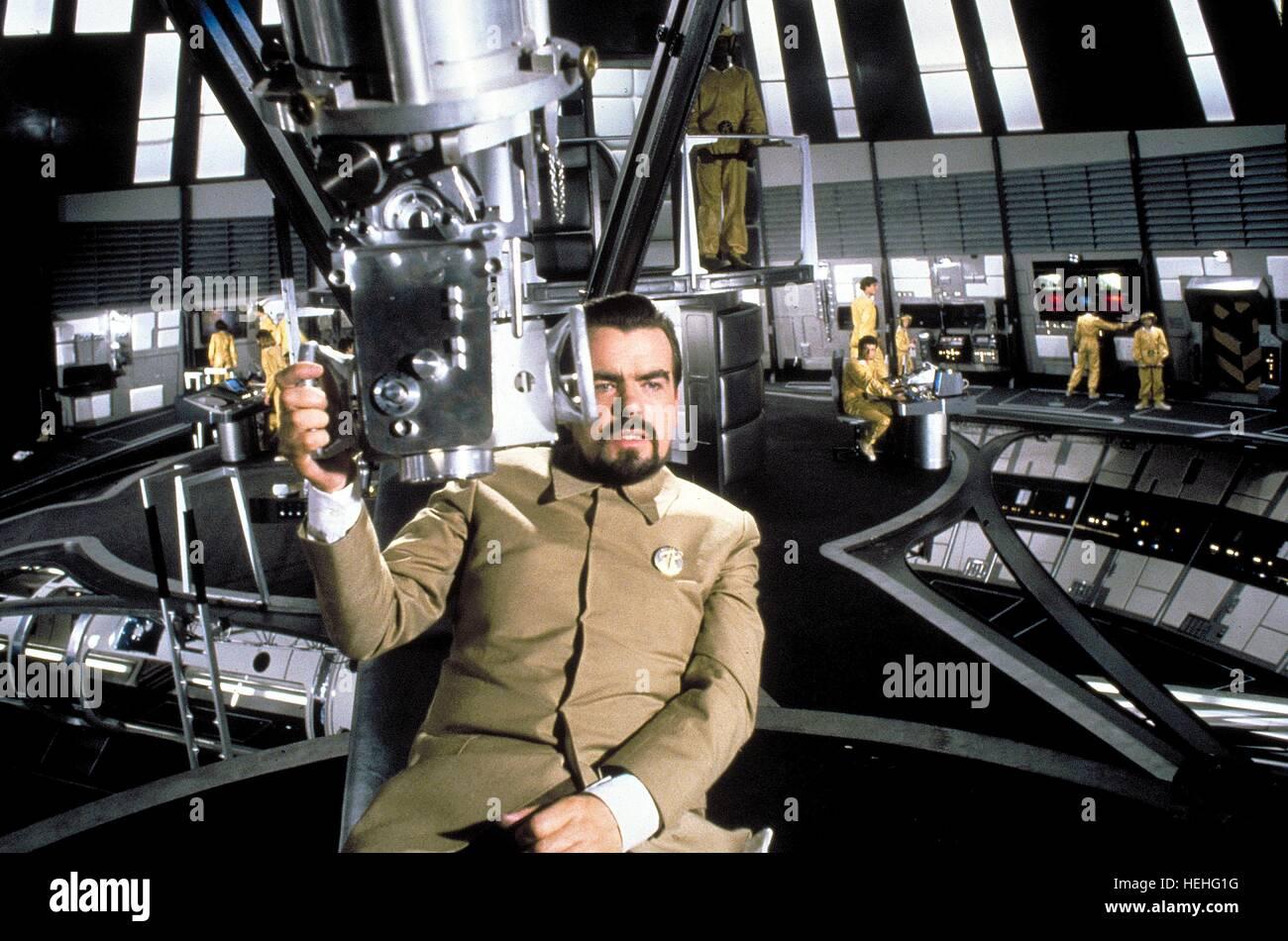 MICHAEL LONSDALE JAMES BOND: MOONRAKER (1979)Stock Photo