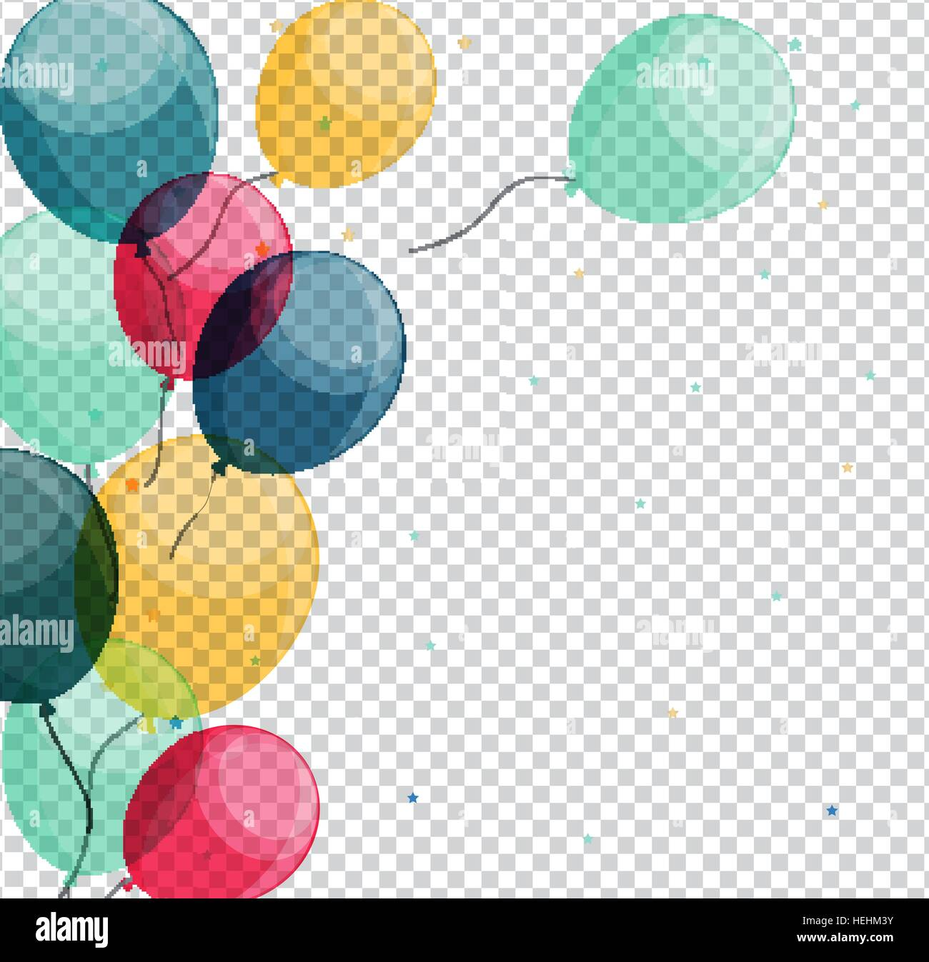 Happy Birthday Balloons And Cake Pictures