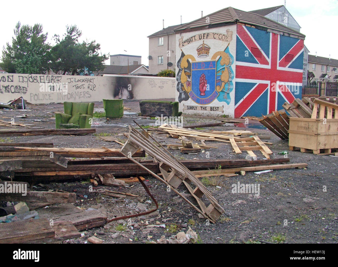Unionist,British,Shankil,rd,painting,art,artist,martyr,fighter,para,paramilitary,soldier,wall,gable,end,gable end,community,protestant,Shankill Road Mural,West,West Belfast,NI,Northern Ireland,best,Ulster Freedom Fighters,Battalion,Simply The Best,firewood,Bonfire,tinder,July,marching season,GoTonySmith,@HotpixUK,Tony,Smith,UK,GB,Great,Britain,United,Kingdom,Irish,British,Ireland,problem,with,problem with,issue with,NI,Northern,Northern Ireland,Belfast,City,Centre,Art,Artists,the,troubles,The Troubles,Good Friday Agreement,Peace,honour,painting,wall,walls,tribute,unionism,Fight,Justice,West,Beal,feirste,martyrs,social,tour,tourism,tourists,urban,six,counties,6,backdrop,county,Antrim,DUP,democratic Unionist,red hand,of Ulster,Red Hand Of Ulster,Shankill,Rd,road,Shankill Road,streets of Belfast,protestant,religion,intolerance,prejudice,Buy Pictures of,Buy Images Of,Images of,Stock Images,Tony Smith,United Kingdom,Great Britain,British Isles,Irish History,Ireland History,Northern Ireland History