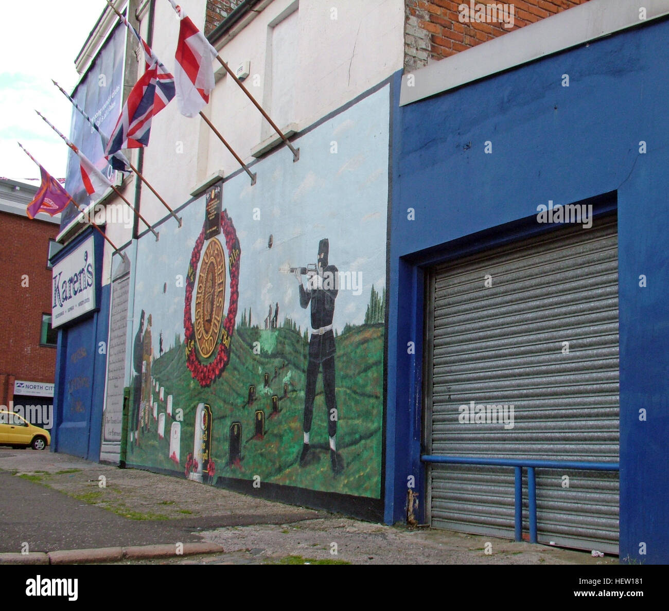 Unionist,British,Shankil,rd,painting,art,artist,martyr,fighter,para,paramilitary,soldier,wall,gable,end,gable end,community,protestant,Shankill Road Mural,West,West Belfast,NI,Northern Ireland,GoTonySmith,@HotpixUK,Tony,Smith,UK,GB,Great,Britain,United,Kingdom,Irish,British,Ireland,problem,with,problem with,issue with,NI,Northern,Northern Ireland,Belfast,City,Centre,Art,Artists,the,troubles,The Troubles,Good Friday Agreement,Peace,honour,painting,wall,walls,tribute,unionism,Fight,Justice,West,Beal,feirste,martyrs,social,tour,tourism,tourists,urban,six,counties,6,backdrop,county,Antrim,DUP,democratic Unionist,red hand,of Ulster,Red Hand Of Ulster,Shankill,Rd,road,Shankill Road,Buy Pictures of,Buy Images Of,Images of,Stock Images,Tony Smith,United Kingdom,Great Britain,British Isles