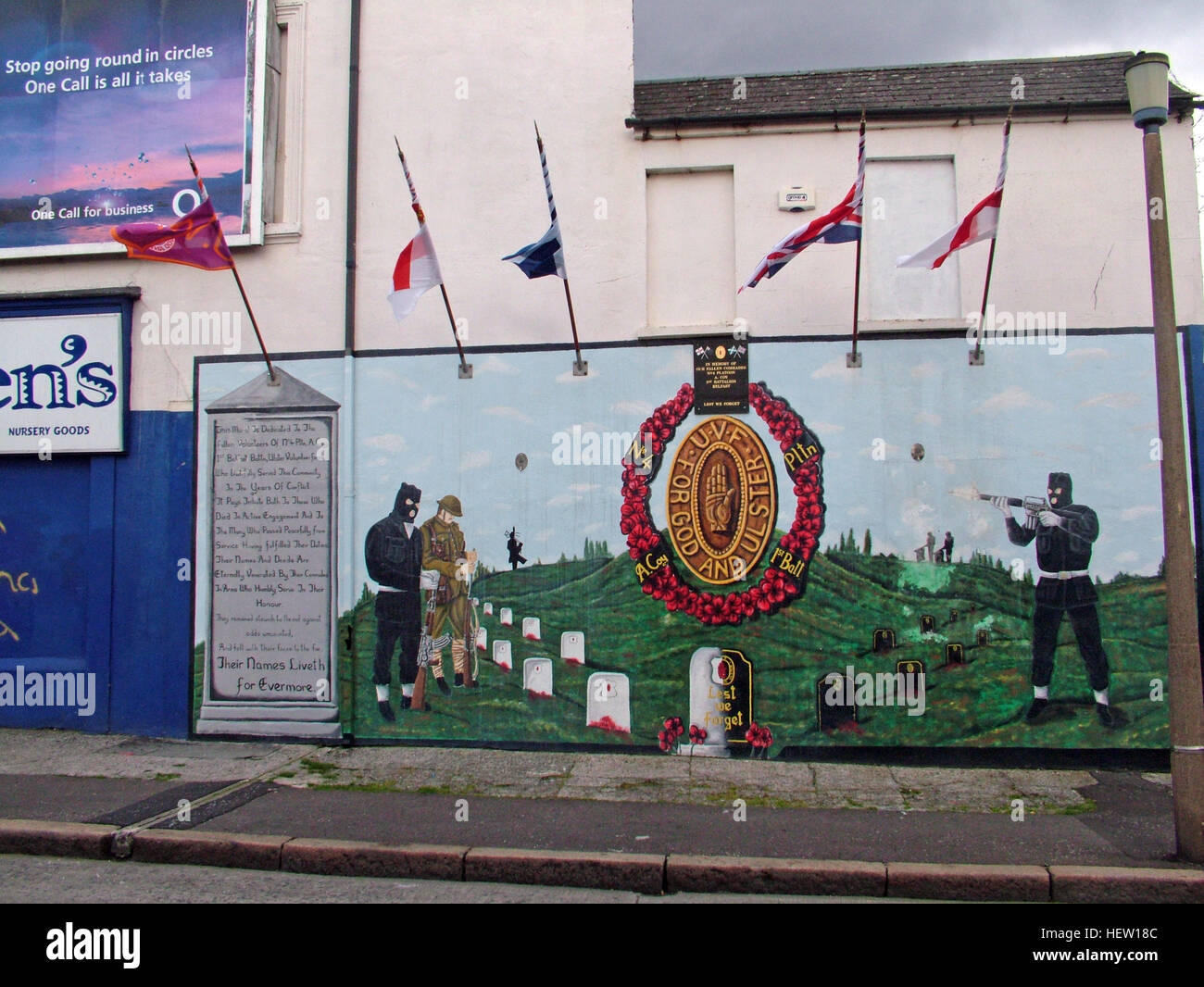 Unionist,British,Shankil,rd,painting,art,artist,martyr,fighter,para,paramilitary,soldier,wall,gable,end,gable end,community,protestant,Shankill Road Mural,West,West Belfast,NI,Northern Ireland,For God for Ulster,For Ulster,For God,flags,flying,flags flying,poppy,poppies,GoTonySmith,@HotpixUK,Tony,Smith,UK,GB,Great,Britain,United,Kingdom,Irish,British,Ireland,problem,with,problem with,issue with,NI,Northern,Northern Ireland,Belfast,City,Centre,Art,Artists,the,troubles,The Troubles,Good Friday Agreement,Peace,honour,painting,wall,walls,tribute,unionism,Fight,Justice,West,Beal,feirste,martyrs,social,tour,tourism,tourists,urban,six,counties,6,backdrop,county,Antrim,DUP,democratic Unionist,red hand,of Ulster,Red Hand Of Ulster,Shankill,Rd,road,Shankill Road,Buy Pictures of,Buy Images Of,Images of,Stock Images,Tony Smith,United Kingdom,Great Britain,British Isles