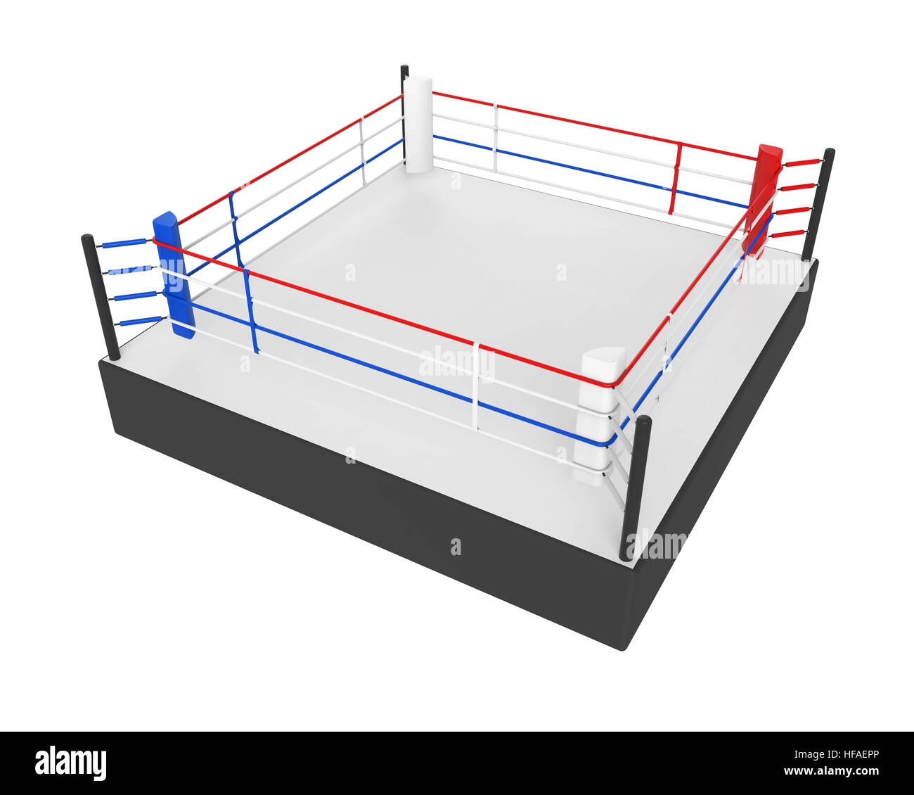 Boxing ring isolated stock photo 129923550 alamy boxing ring isolated ccuart Images
