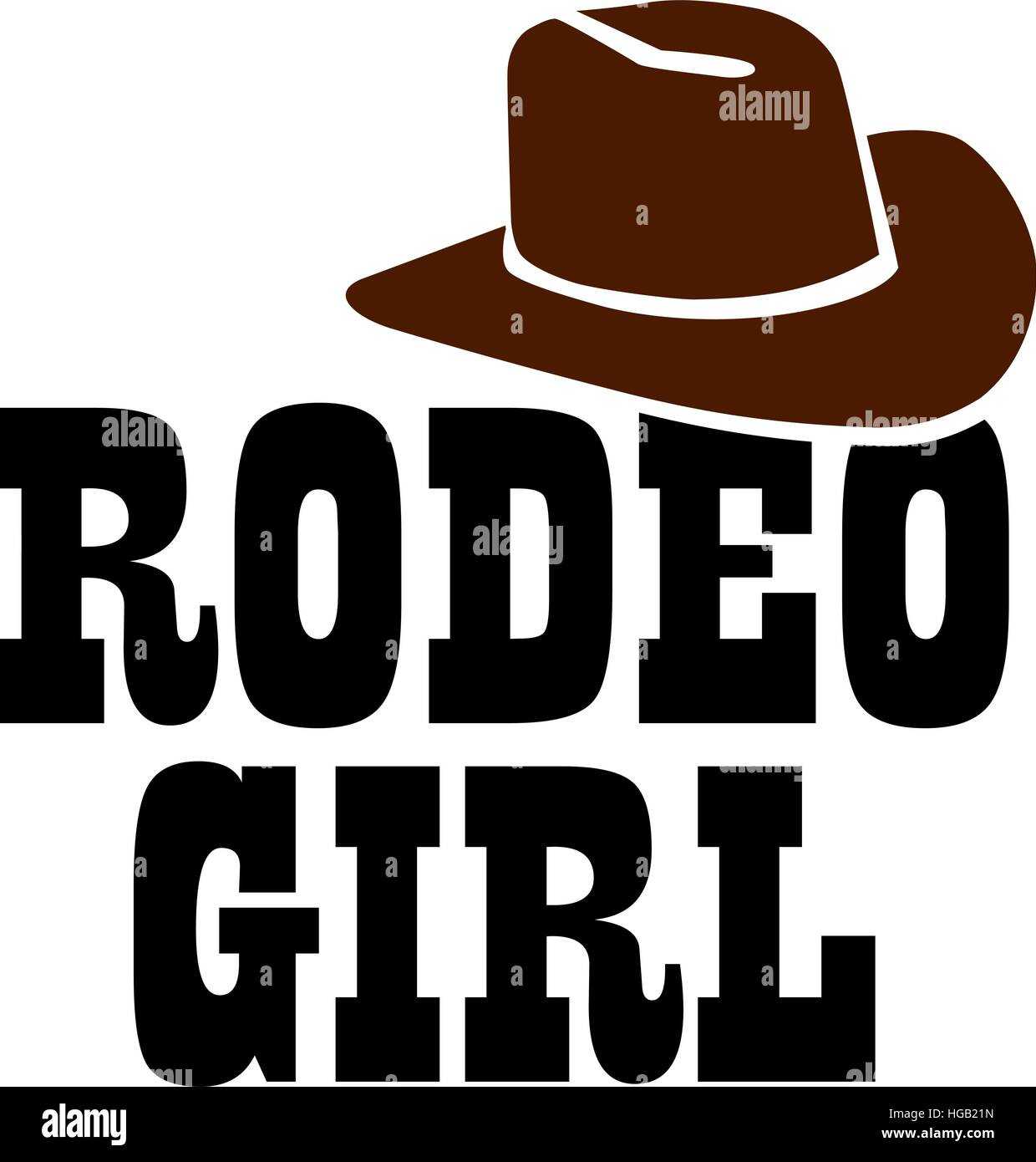 92bef66e6e8 Rodeo girl with cowboy hat stock vector art illustration vector jpg  1240x1390 Rodeo logos hats